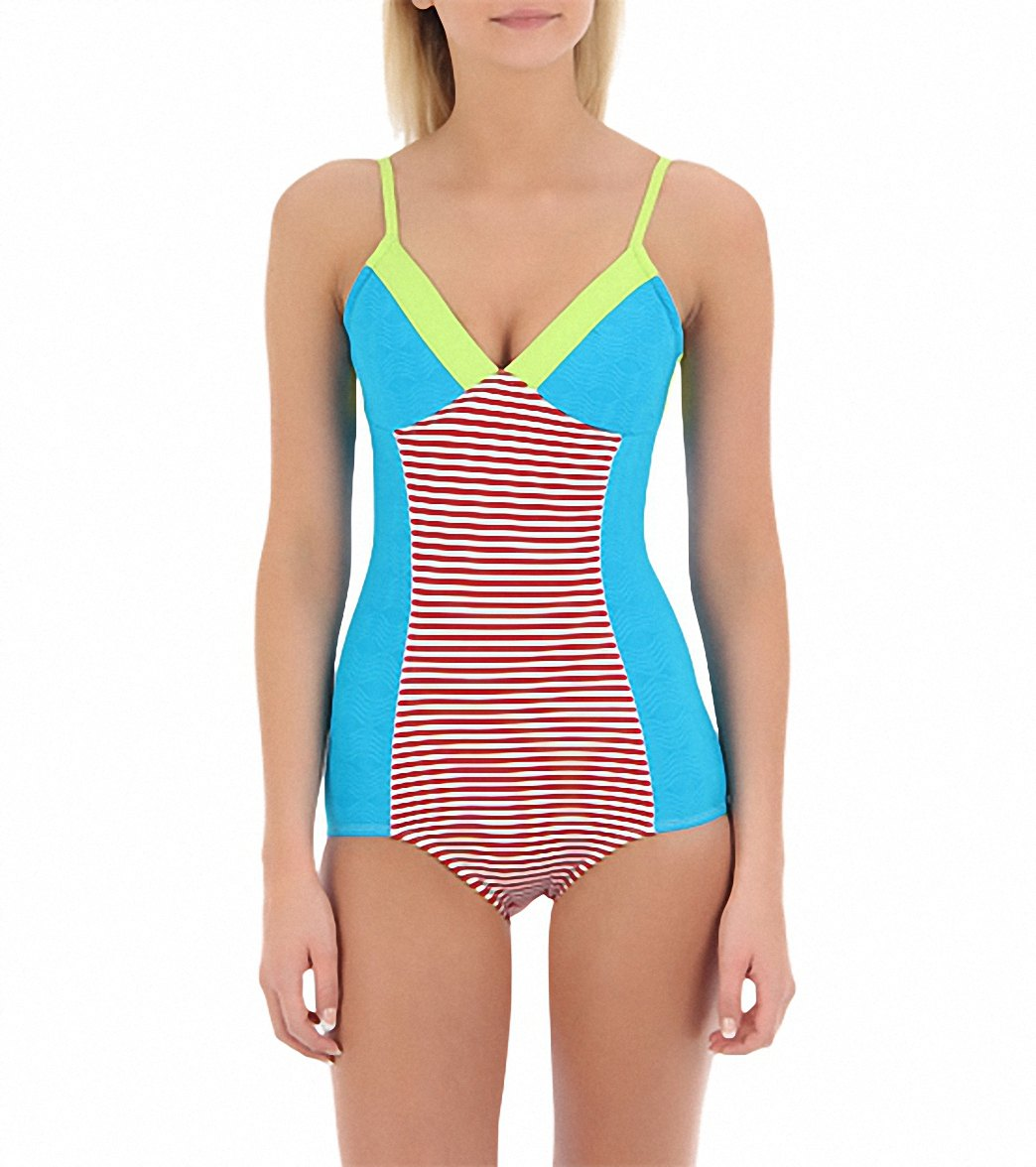 Seea Womens Riviera One Piece Swimsuit at SwimOutlet.com - Free Shipping f3ca488ef