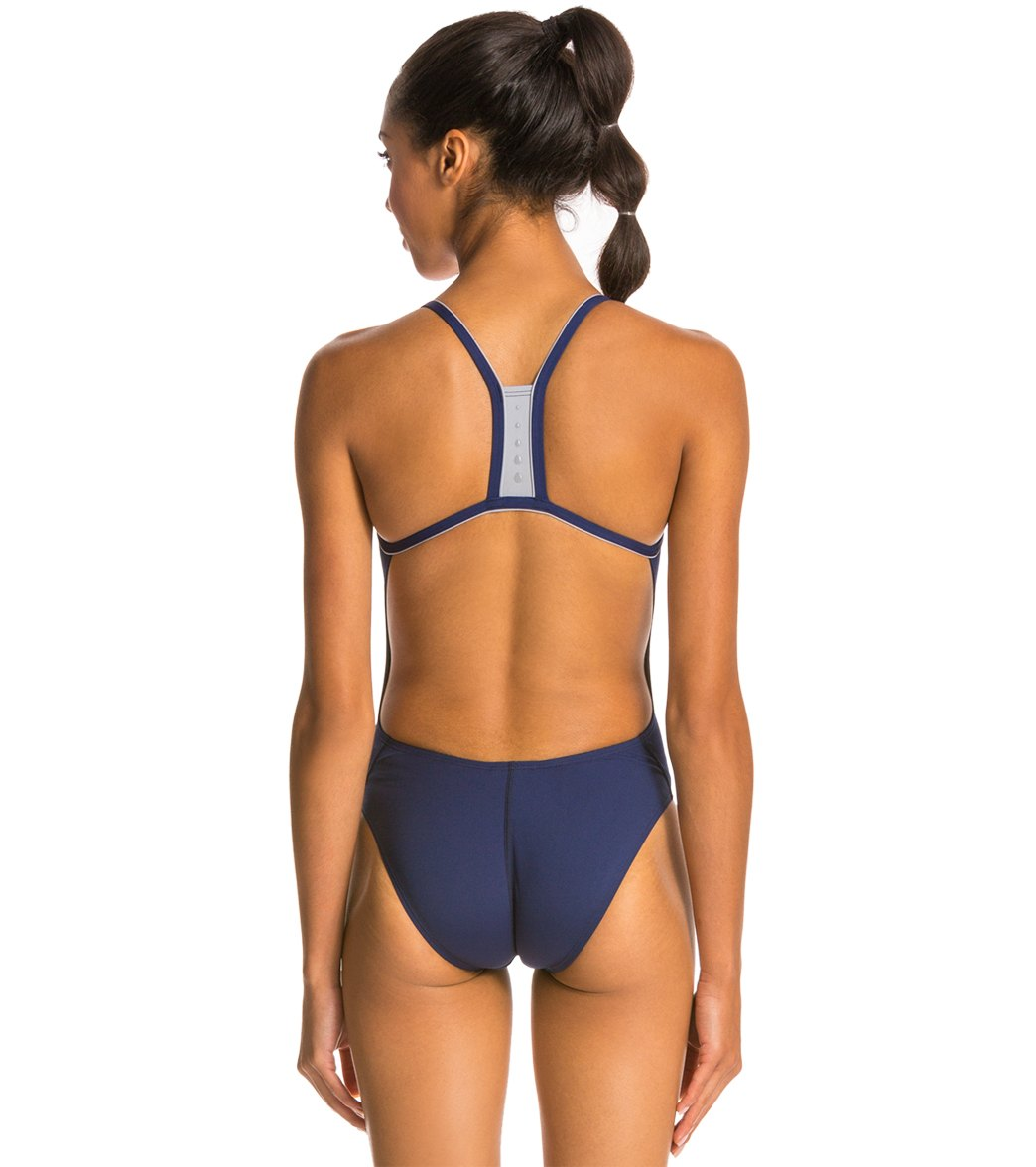 4769edbe4476a Speedo Solid Endurance + Thin Strap Swimsuit at SwimOutlet.com ...