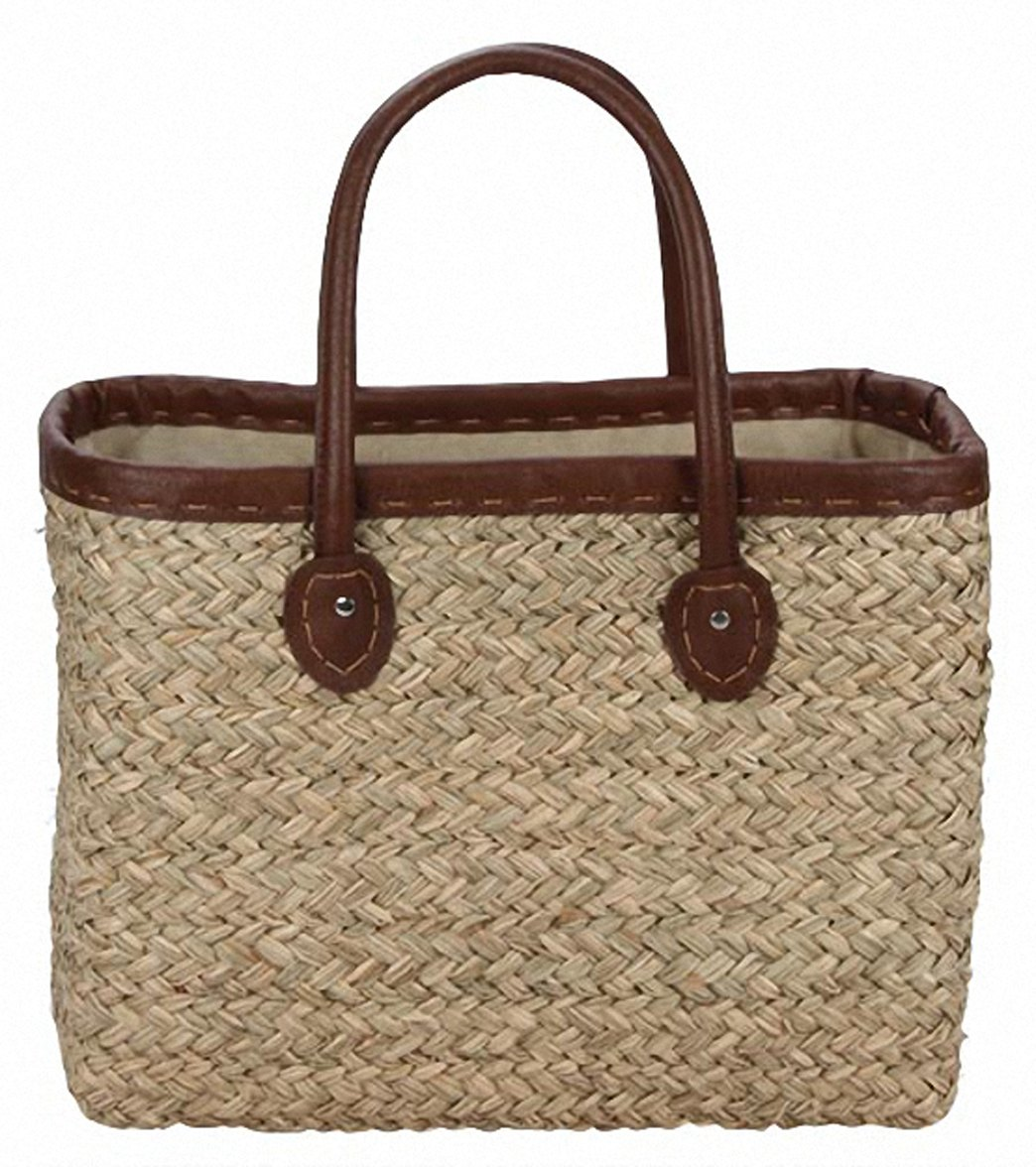 7f9317ec Sun N Sand Woodland Hue Straw Square Tote Beach Bag at SwimOutlet.com