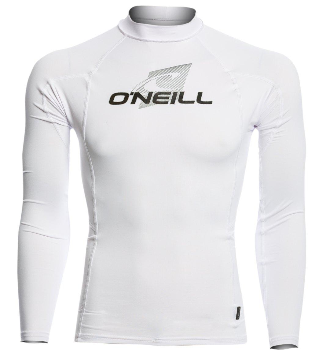 07cfb32f3 O'Neill Men's Skins Long Sleeve Crew Rashguard at SwimOutlet.com