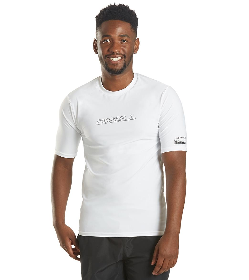 9835dde7dde O Neill Men s Basic Skins Short Sleeve Rash Tee at SwimOutlet.com