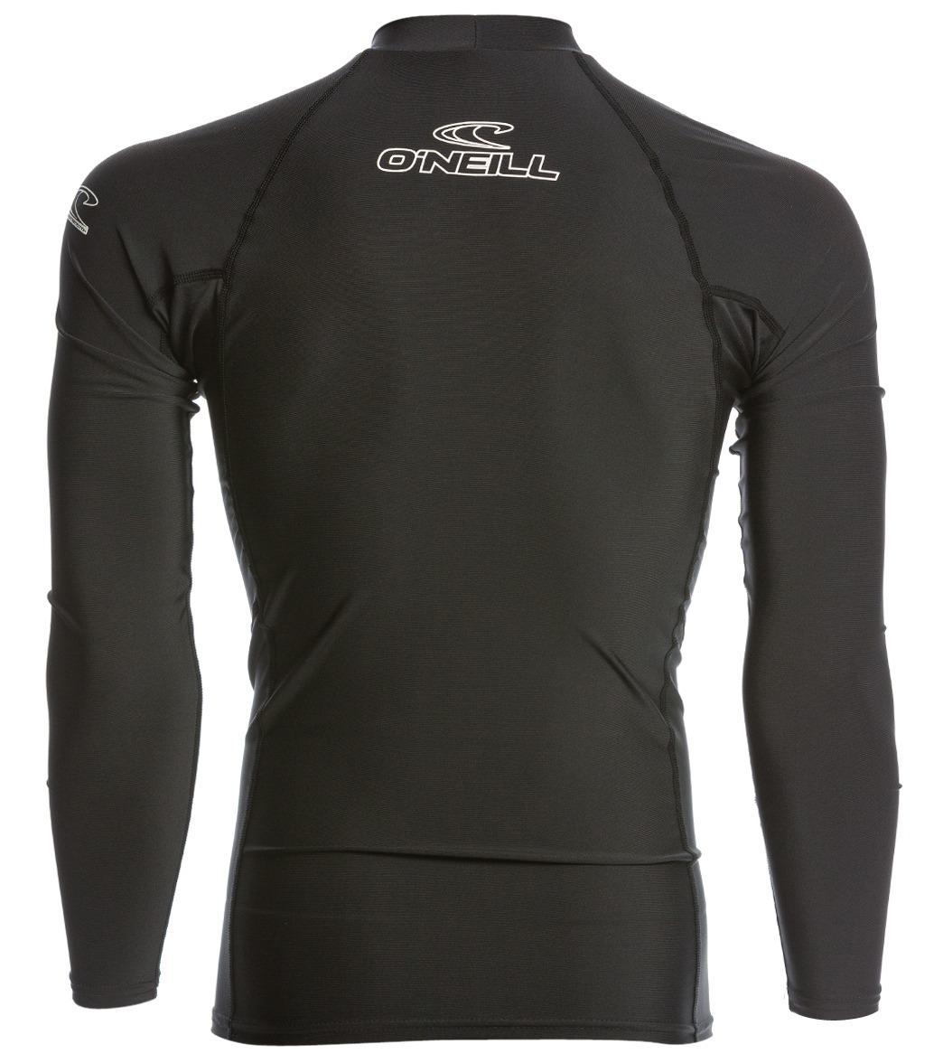 1c173aa7d0 O Neill Men s Basic Skins Long Sleeve Crew Rashguard at SwimOutlet.com