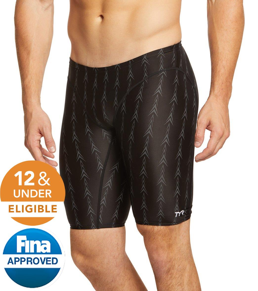 TYR Men's Fusion 2 Jammer Tech Suit Swimsuit
