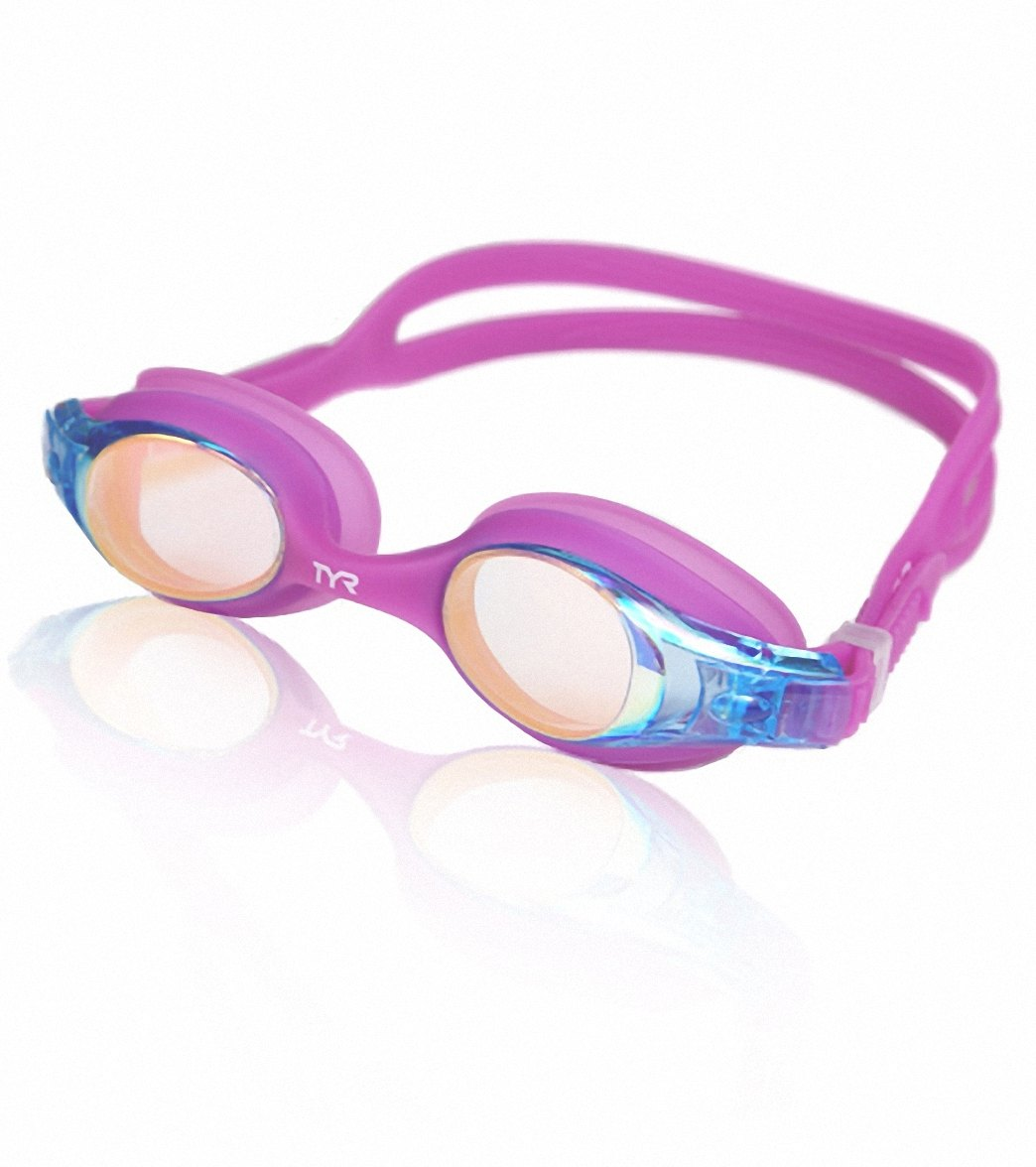 0e42a7ae23 TYR Kids  Swimple Metallized Goggle at SwimOutlet.com
