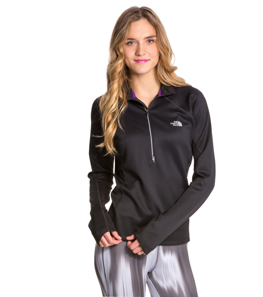 98c09a1a3 The North Face Women's Momentum Thermal Running 1u002F2 Zip