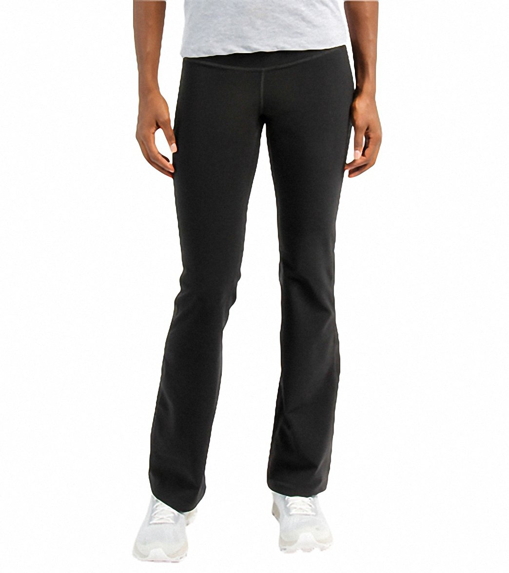 db680a61a36ae ... New Balance Women's Ultimate Bootcut Running Pant. Play Video. MODEL  MEASUREMENTS