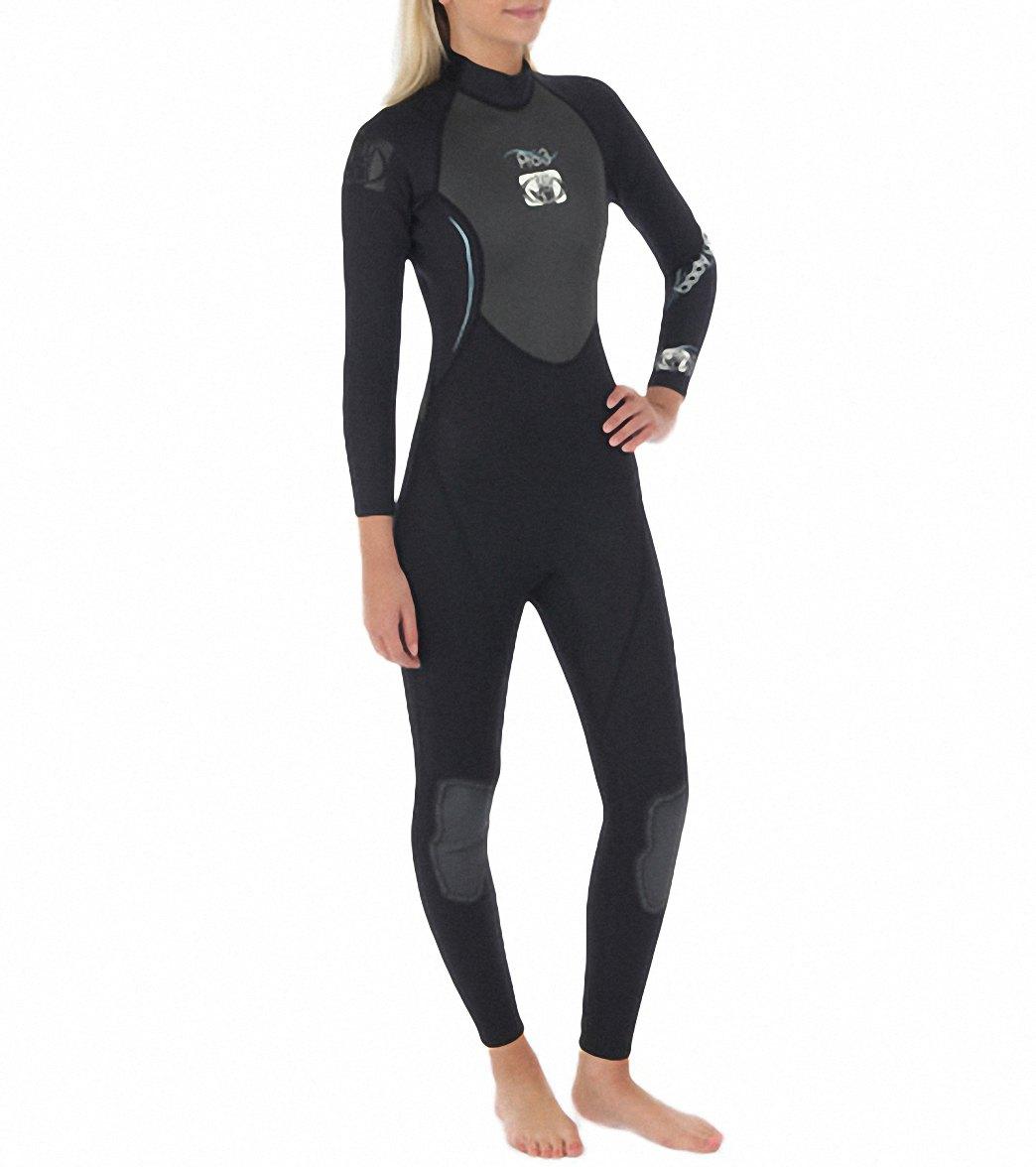 e7bfa5250ab Body Glove Women s Pro 3 3 2MM Back Zip Fullsuit Wetsuit at ...