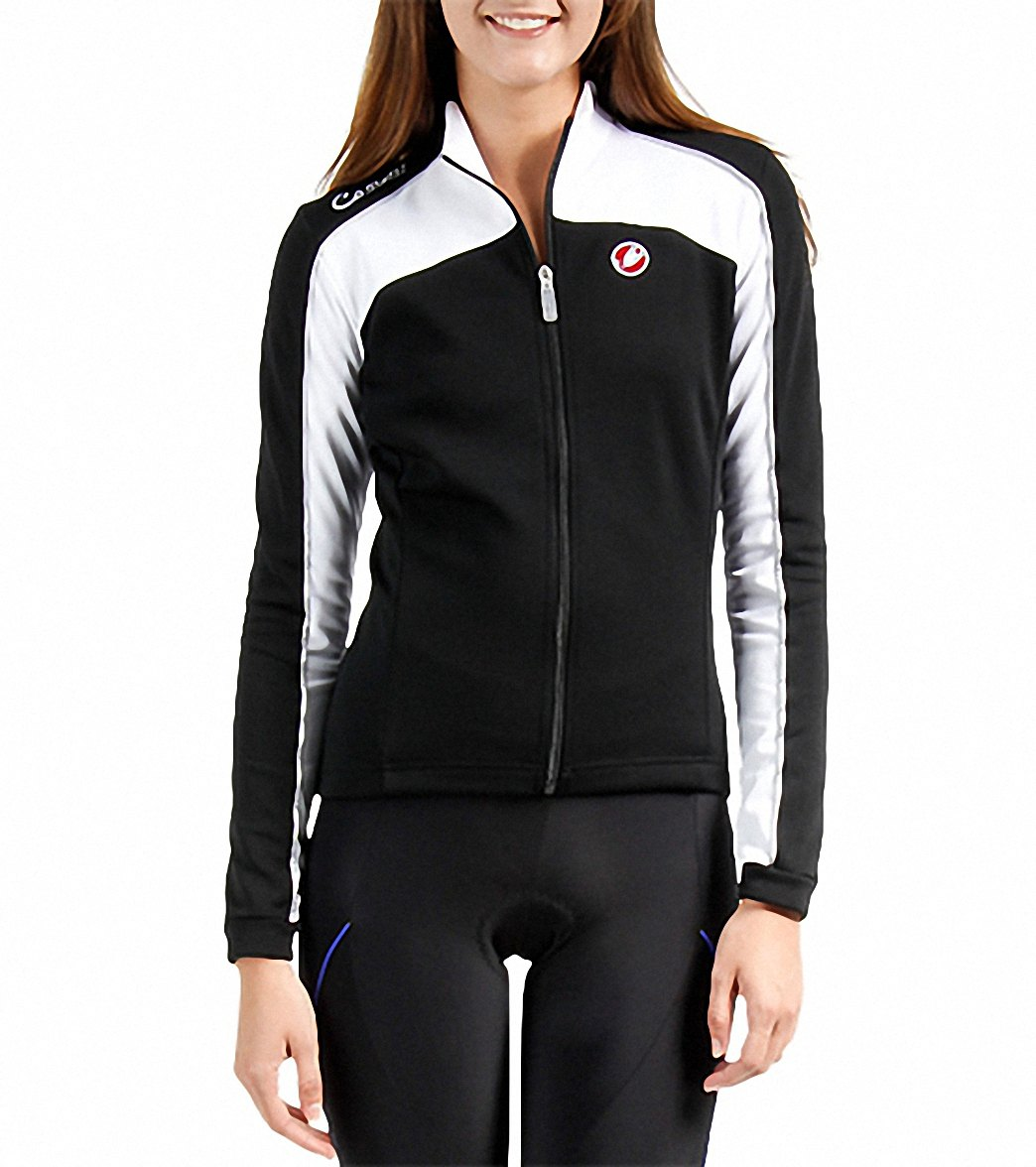 Castelli Women s Viziata Full Zip LS Cycling Jersey at SwimOutlet.com -  Free Shipping 9238b6454