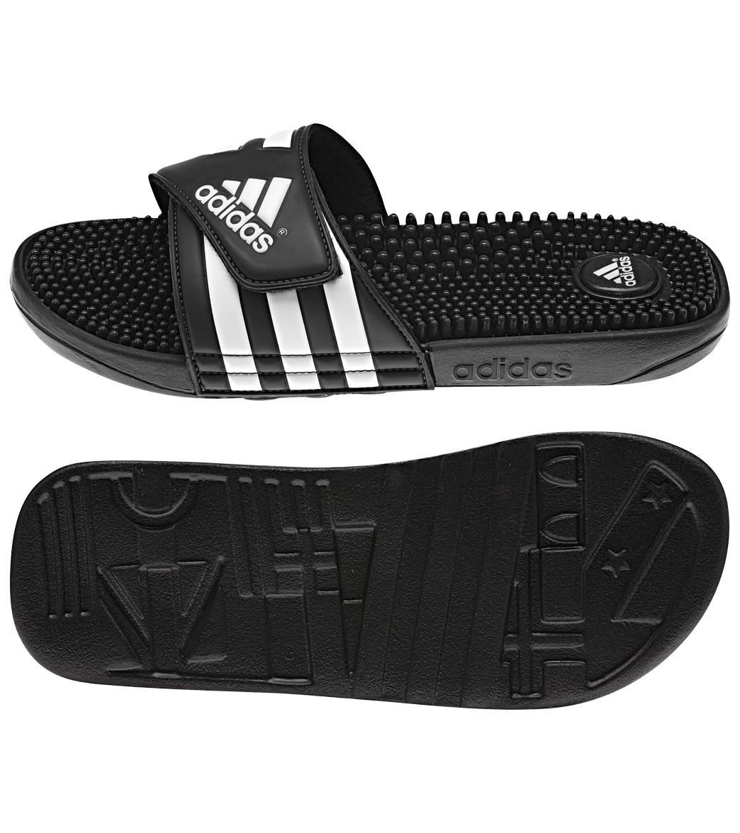 Adidas Adissage Slide Sandals At SwimOutlet.com