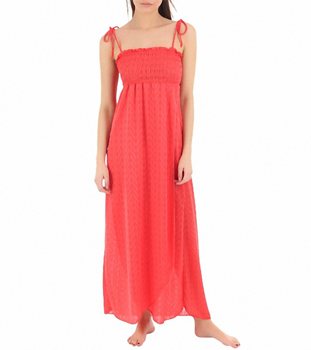 b8d32c26b0f3f Jordan Taylor Martime Smocked Maxi Dress
