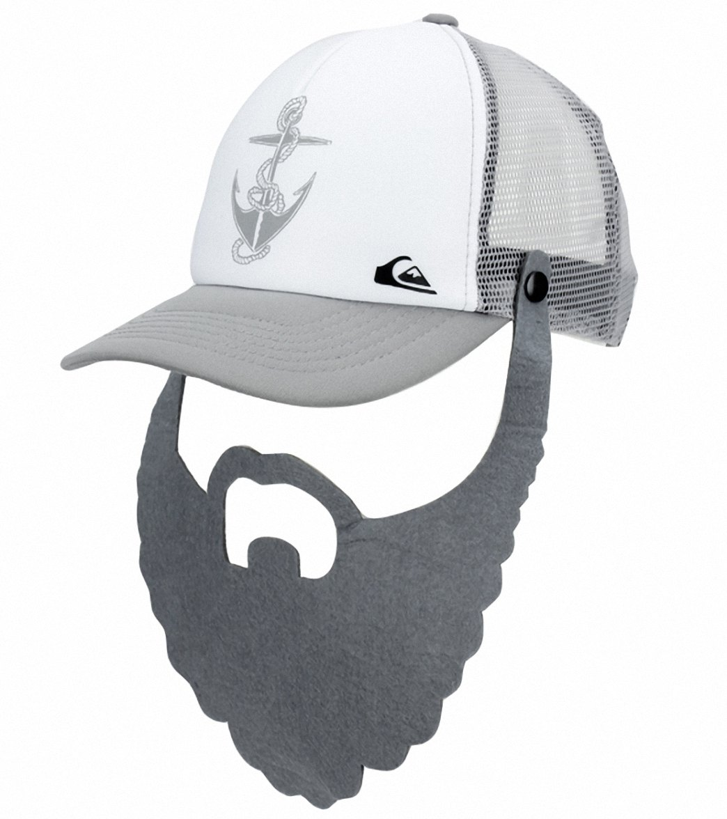 Quiksilver Boys  Diggler Trucker Hat (Kids) at SwimOutlet.com fc959f3fa62e