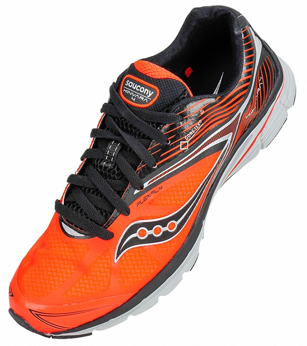 c1f7dfe29953 Saucony Men s Kinvara 4 GTX Running Shoes at SwimOutlet.com - Free Shipping