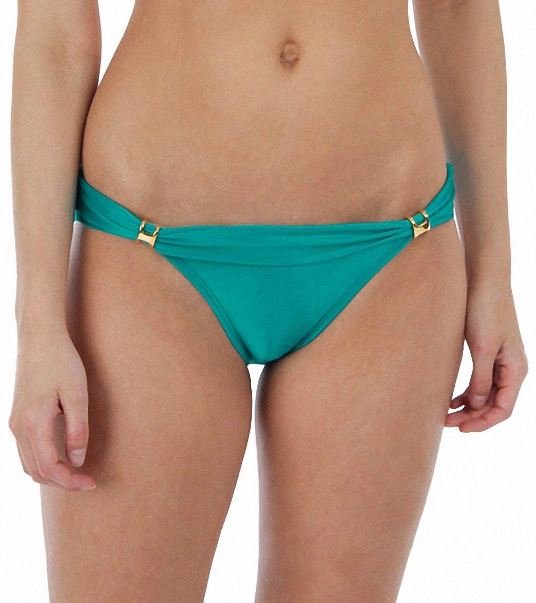 8ae328297 Vix Solid Turquoise Cozumel Tube Bikini Bottom at SwimOutlet.com ...