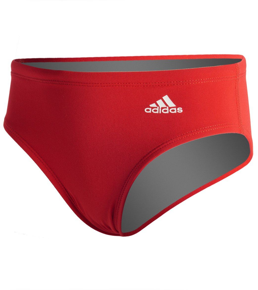 2ddc1731f2698 Adidas Men's Infinitex + Solid Brief Swimsuit at SwimOutlet.com