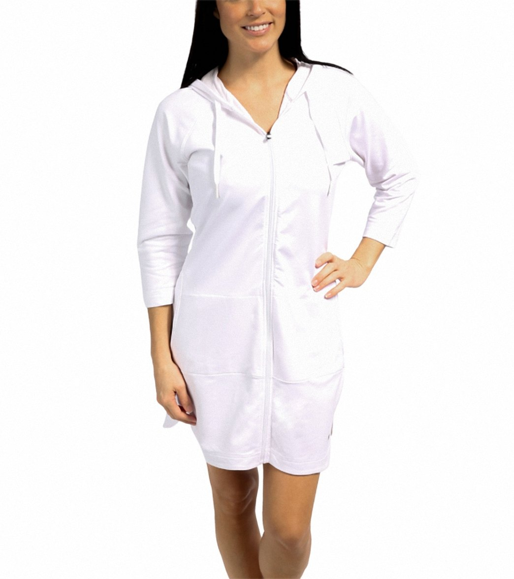 3fae80d2c42 Speedo Aquatic Fitness Robe with Hood at SwimOutlet.com