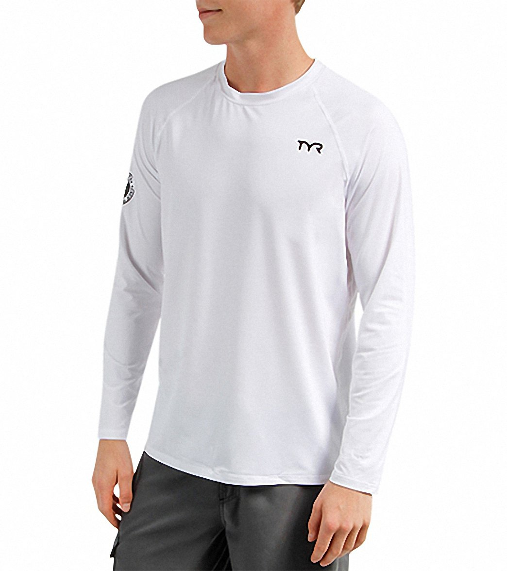 Mens Loose Fit Swim Shirt