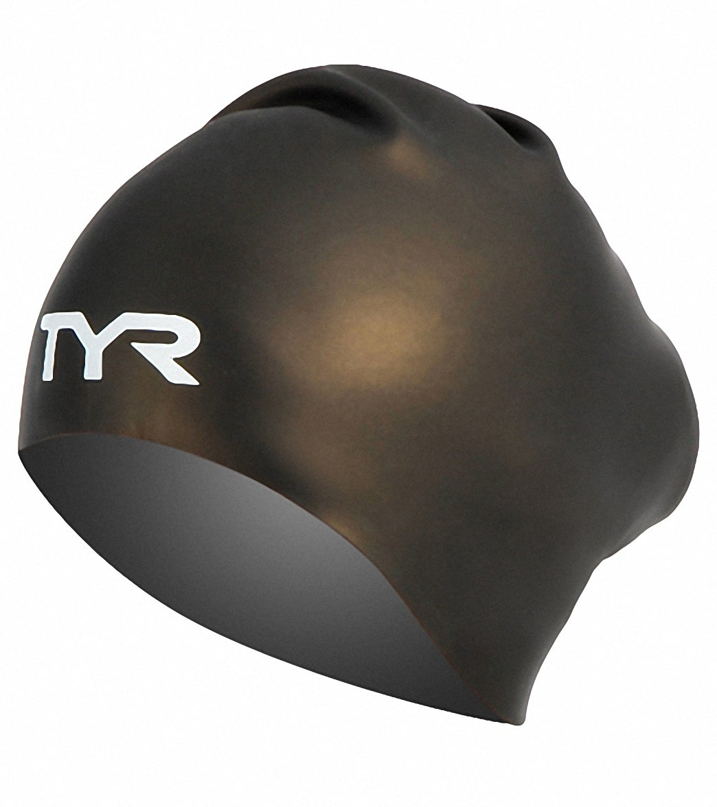 Black Tyr Wrinkle Free Silicone Cap