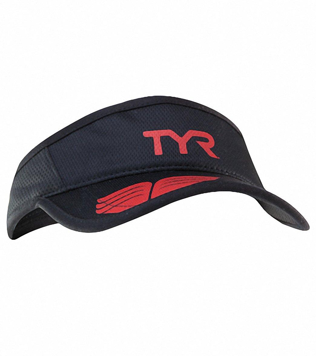521429fc535793 TYR Running Visor at SwimOutlet.com