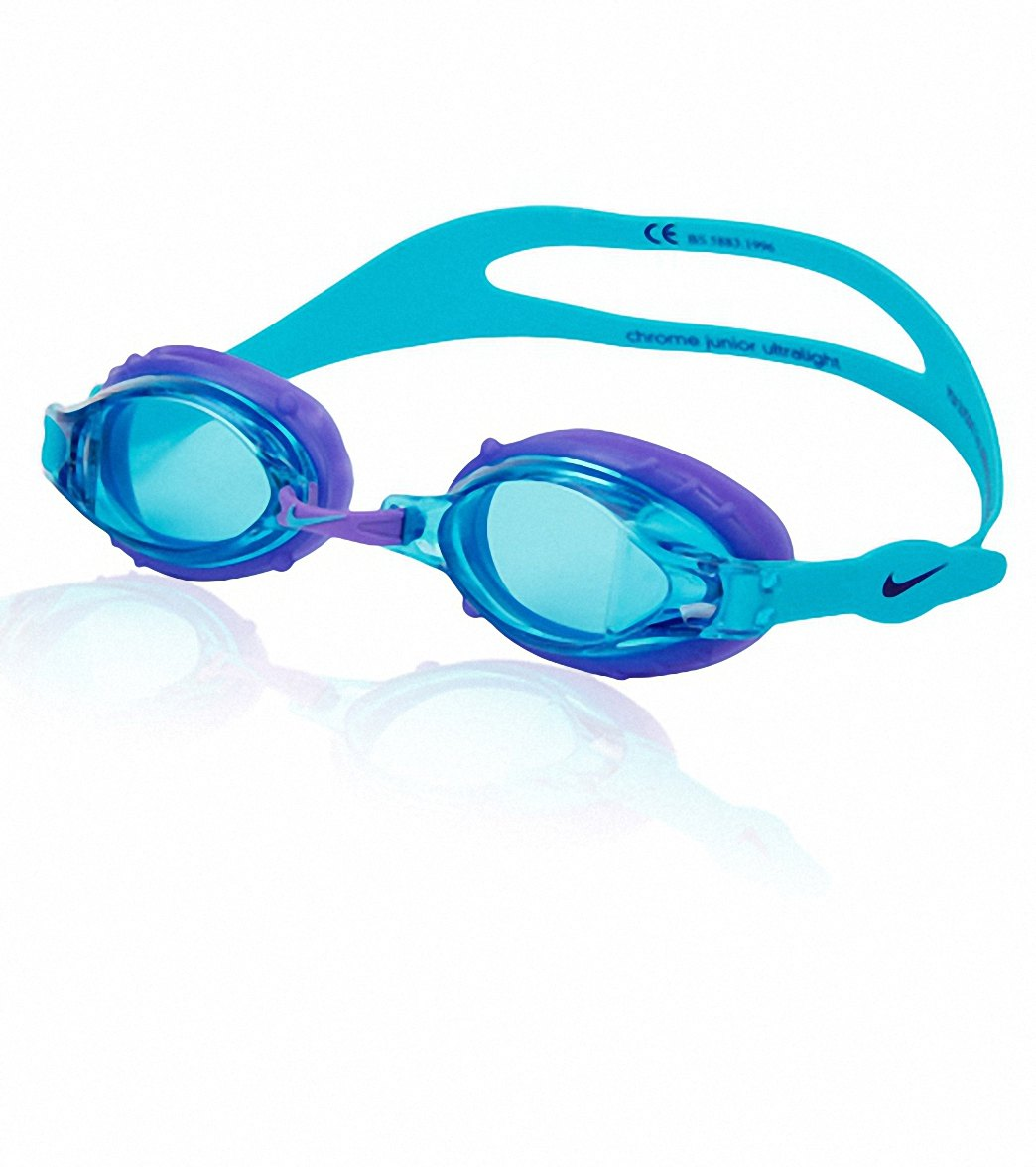 44732f092470 Nike Swim Chrome Jr Goggles at SwimOutlet.com