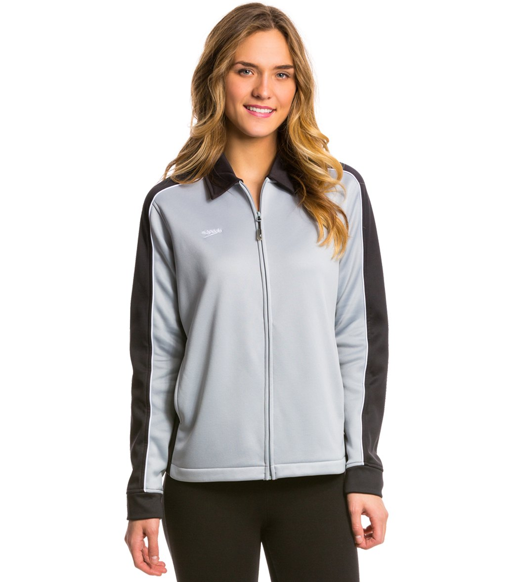 Speedo Womens Female Tech Warm Up Jacket