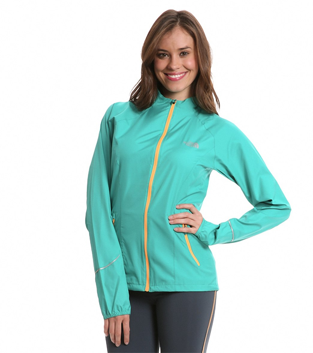 50a9c3d94ff5 The North Face Women s Run Torpedo Jacket at SwimOutlet.com - Free Shipping