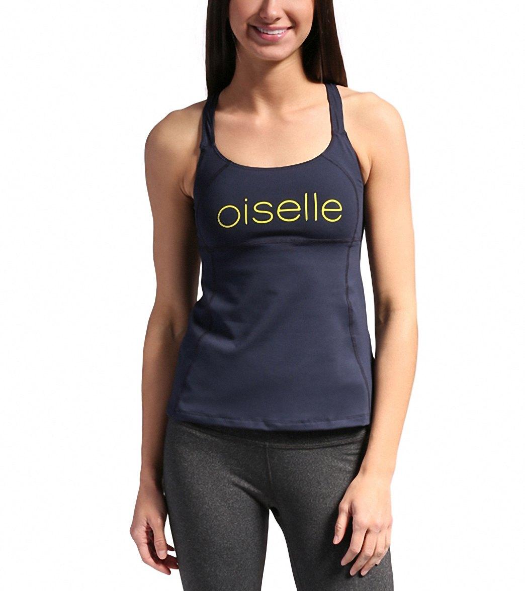 9635c77b8269d Oiselle Women s Lesko Shimmel Run Bra at SwimOutlet.com