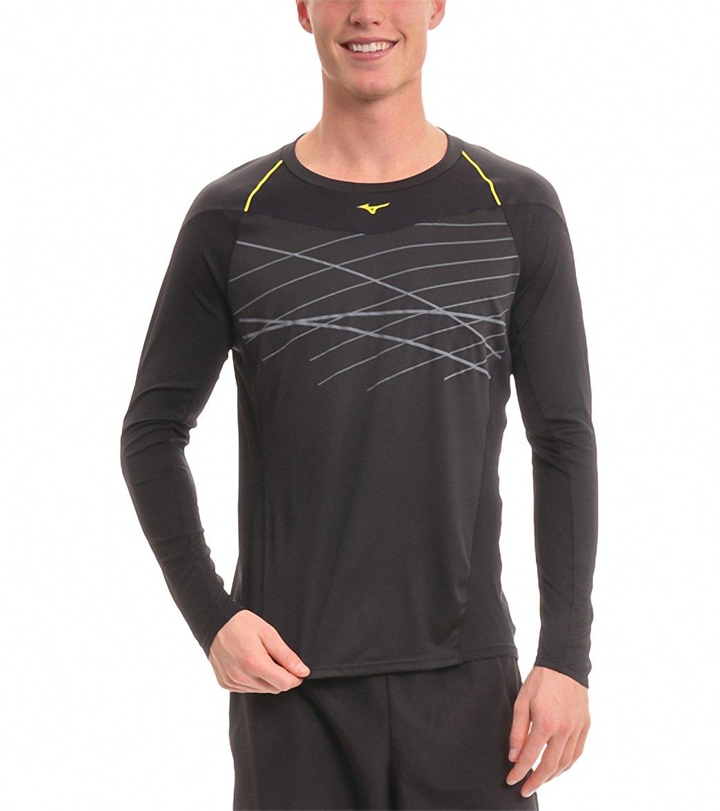 6a67b122da2 Mizuno Men's Venture Long Sleeve Running Shirt at SwimOutlet.com - Free  Shipping