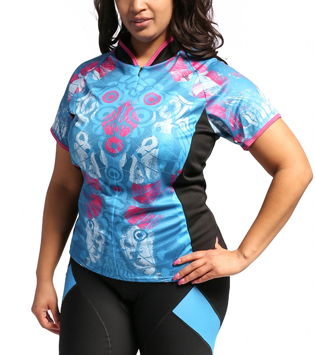 b74efd26ef5 Shebeest Women s Bellissima Wings Plus Size Cycling Jersey at ...