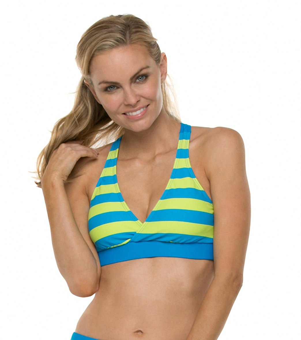 558128b452a58 Next Lined Up 29 Min. B C Cup Sports Bra Bikini Top at SwimOutlet ...