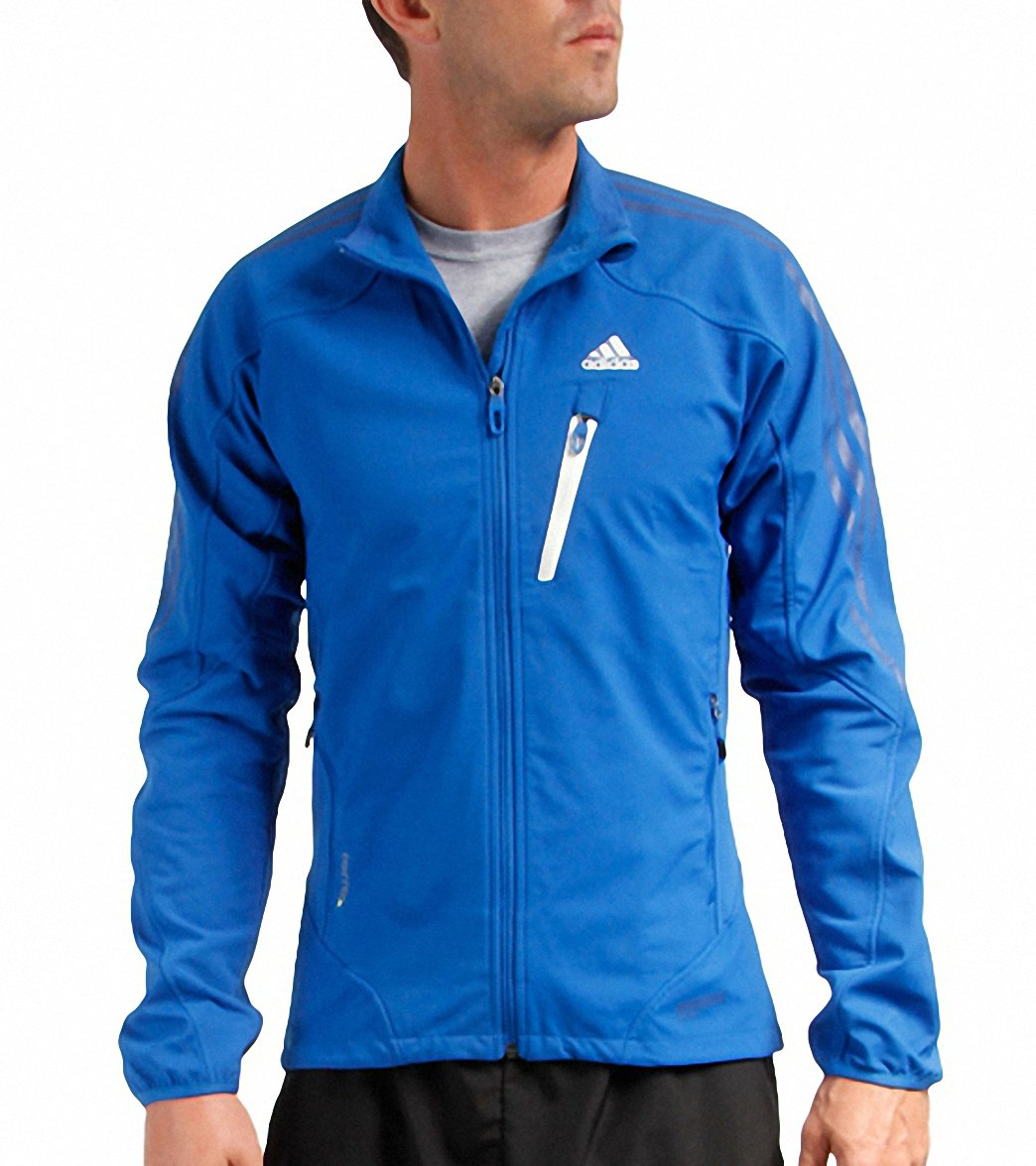 1864d9dab428 Adidas Men s Terrex Hybrid Windstopper Softshell Running Jacket at ...
