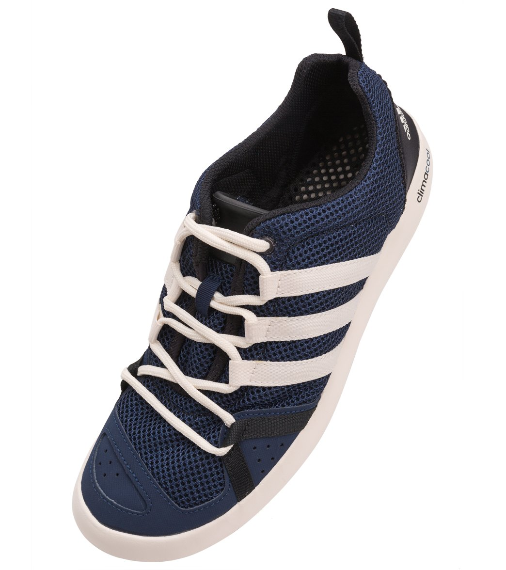 adidas men 39 s climacool boat lace water shoes at swimoutlet. Black Bedroom Furniture Sets. Home Design Ideas