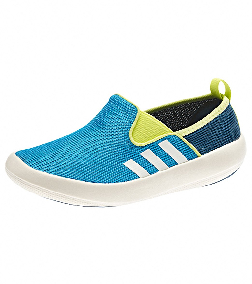 Adidas Boys  Boat Slip On Water Shoes at SwimOutlet.com 65265d815adc