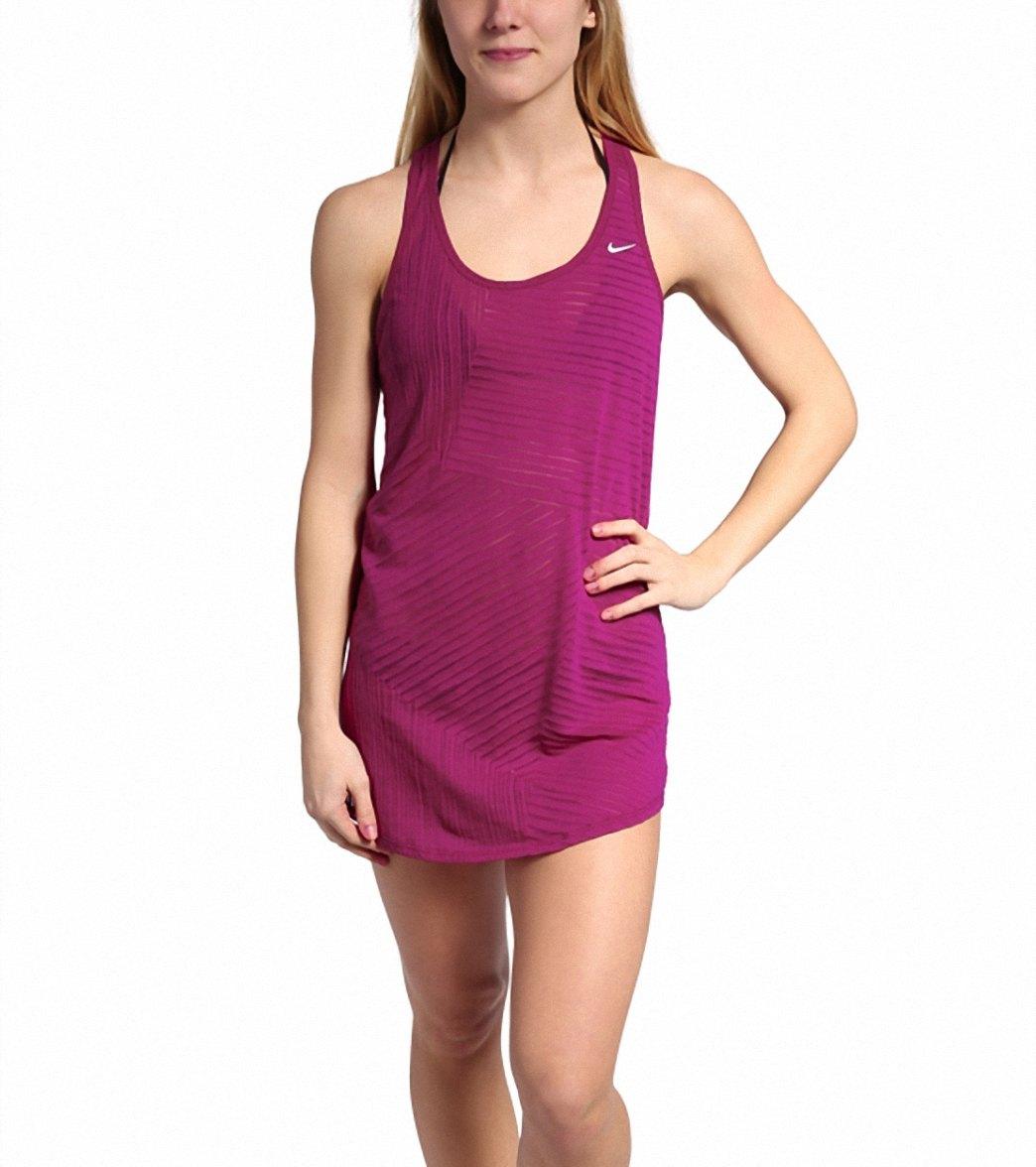 2d684a8832db4 ... Nike Swim Women's Cover-up Tank Dress. Play Video. MODEL MEASUREMENTS