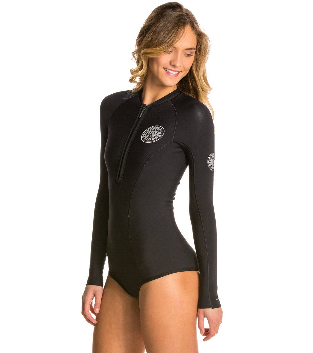 Rip Curl Women s 1mm G-Bomb Long Sleeve Bikini Cut Spring Suit Wetsuit 399bbc743