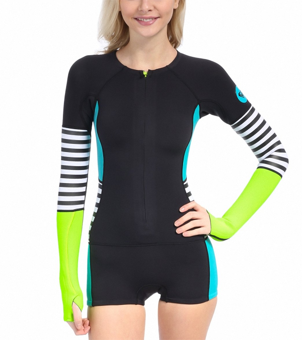 Roxy Waveline Spring Suit At Swimoutlet Com Free Shipping