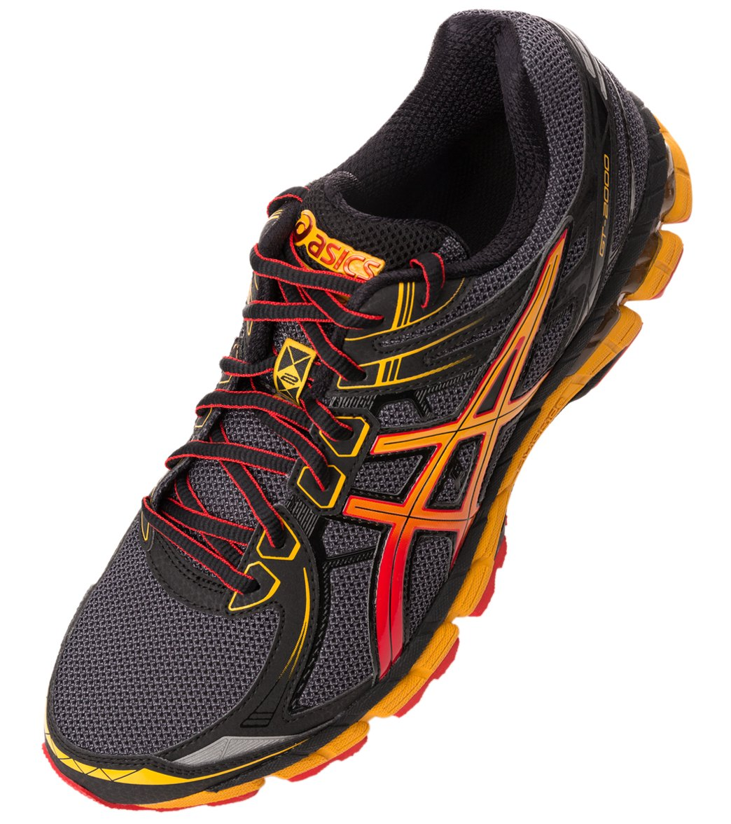 122b64a0d2f3 Asics Men s GT-2000 2 Trail Running Shoes at SwimOutlet.com - Free Shipping