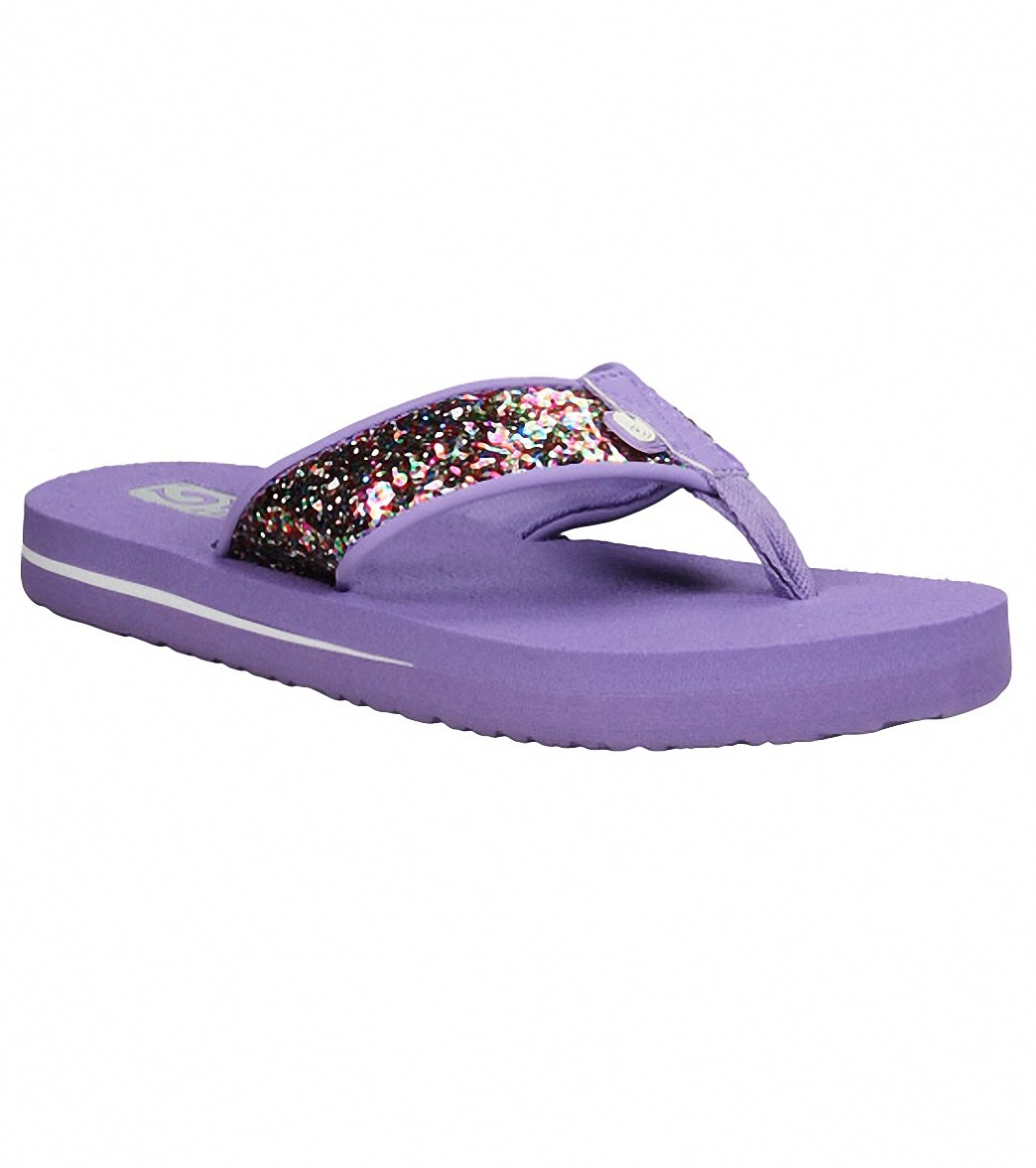 3156943e6966 Teva Kids  (8-13) Mush II Sparkle Flip Flop at SwimOutlet.com