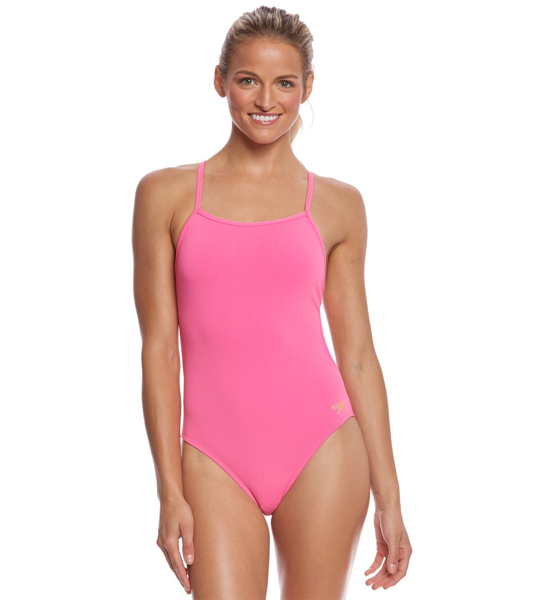 233efe80fd Speedo The One Solid One Piece Swimsuit at SwimOutlet.com - Free Shipping