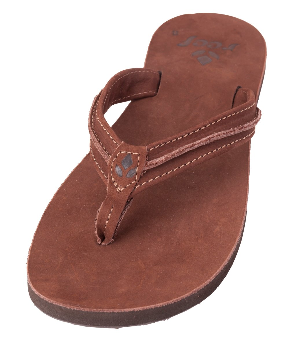 d4b801c5c8c Reef Women s Swing 2 Leather Flip Flop at SwimOutlet.com - Free ...