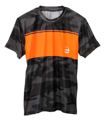 BILLABONG Boys Chronicle Short Sleeve Regular Fit Rashguard Rashguard Shirt