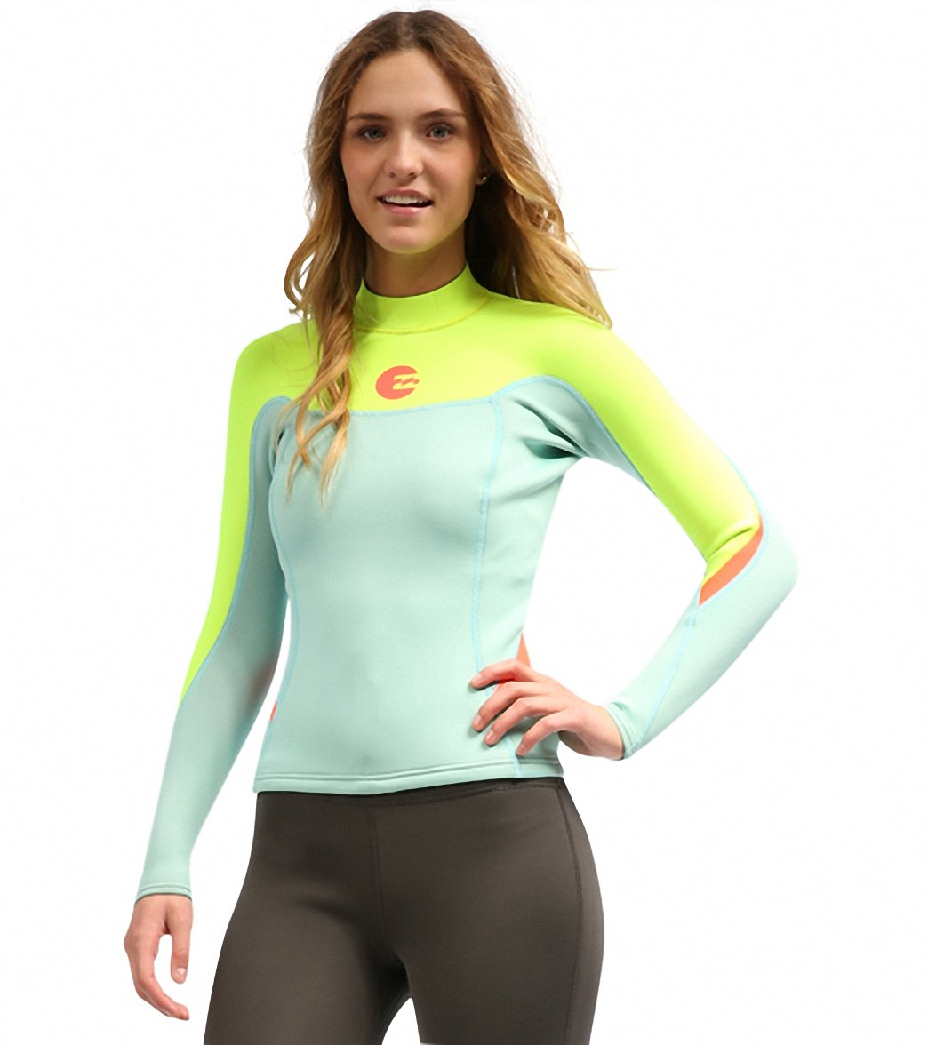 c7a4a41ce2 Billabong Women s 2MM Synergy L S Jacket at SwimOutlet.com - Free ...