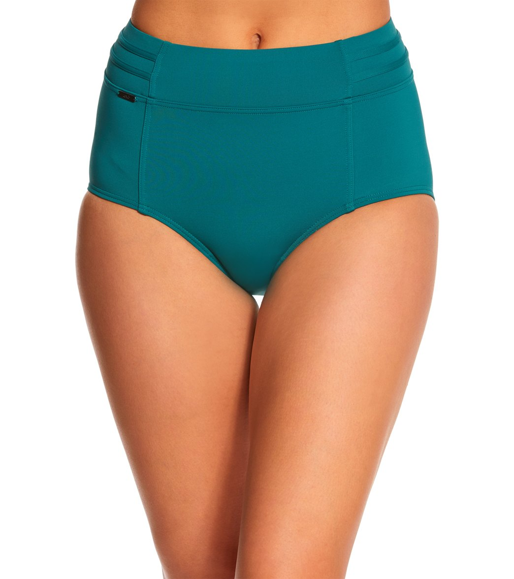5b0fc4eda26 Lole Matira Solid High Waisted Bikini Bottom at SwimOutlet.com