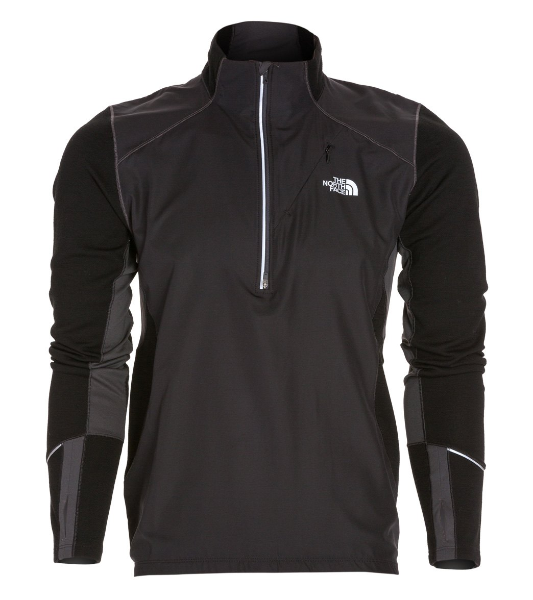 8d4ce1065ab3 The North Face Men s Isotherm 1 2 Zip Running Jacket at SwimOutlet.com -  Free Shipping