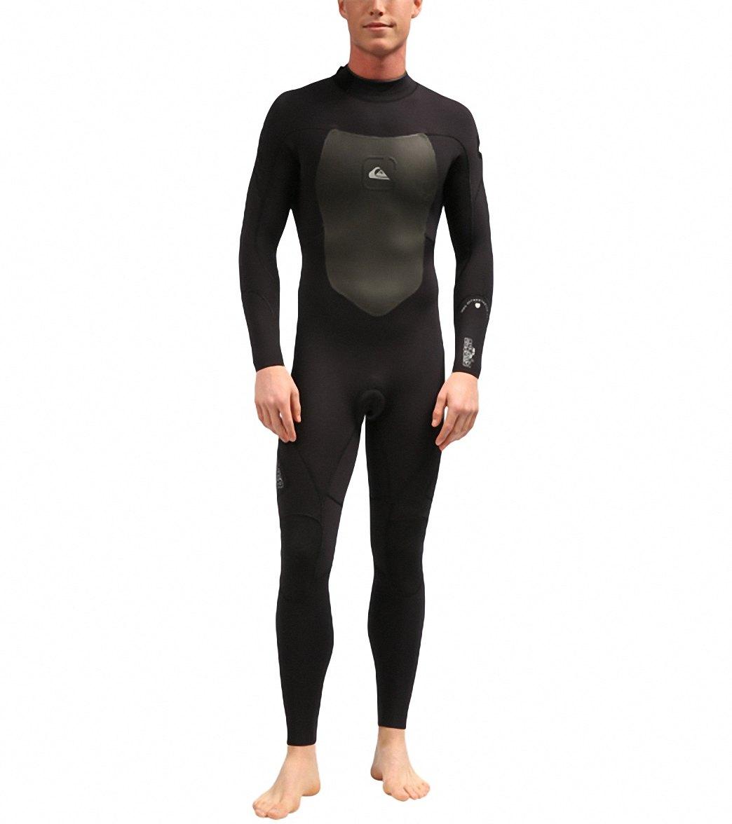 ea003fc943 Quiksilver Men's 3/2MM Syncro Back Zip GBS Fullsuit Wetsuit at ...