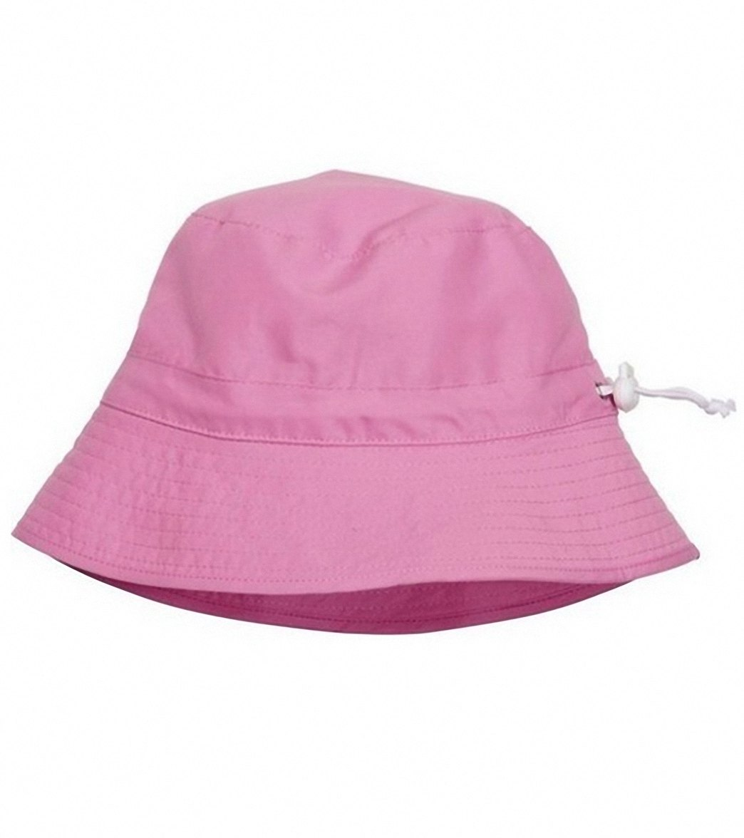 a3c4228a244cd Snapper Rock Girls  Pink Bucket Hat (Kids) at SwimOutlet.com