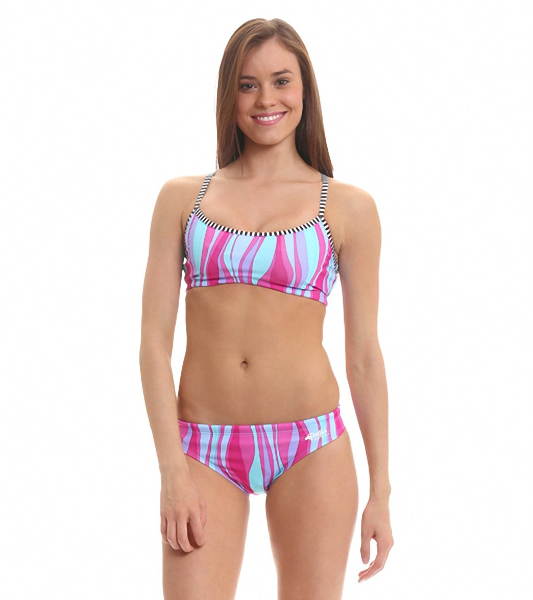 a9aa114234d Dolfin Uglies Raya Workout Two Piece Swimsuit at SwimOutlet.com