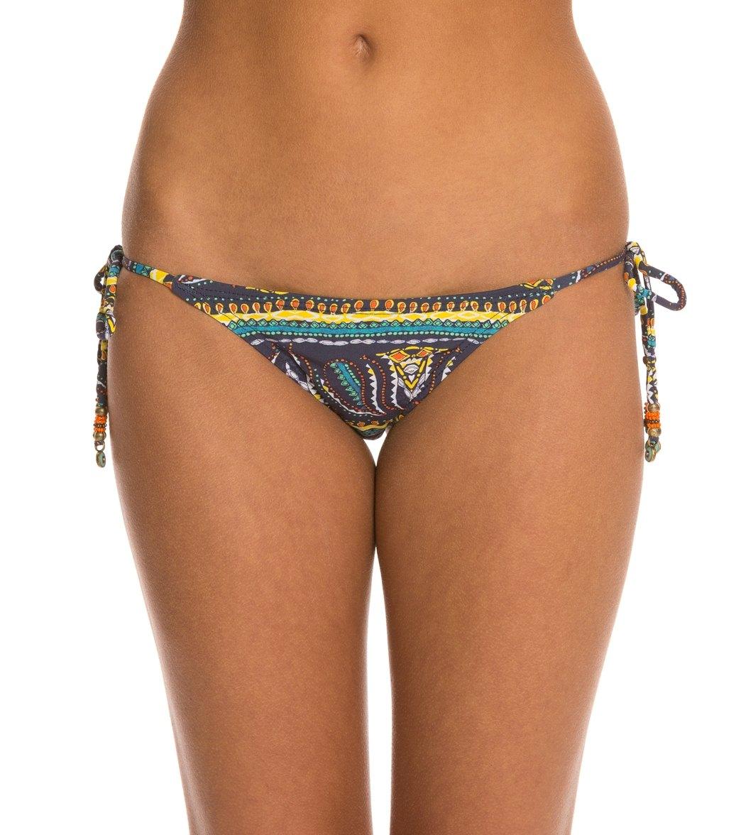 db21da9702 Sofia Agra Tie Side Brazilian Bikini Bottom at SwimOutlet.com - Free ...