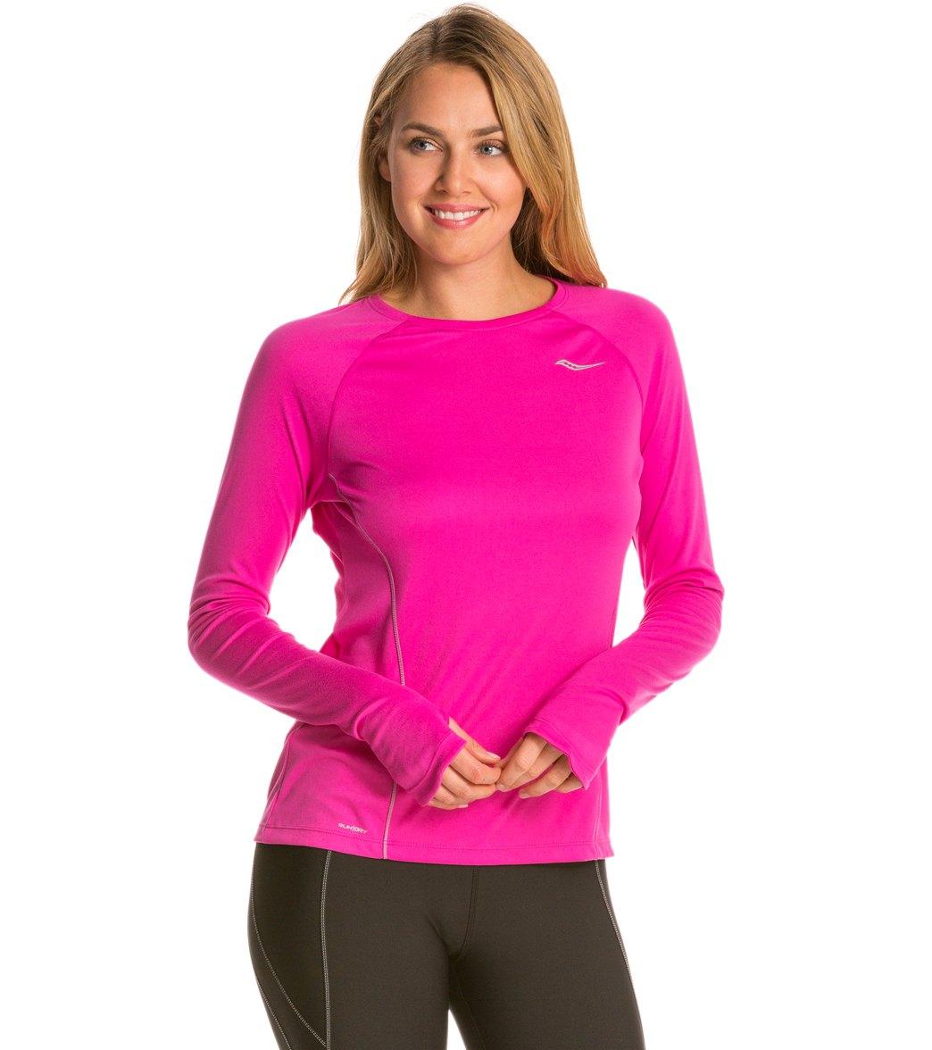 300928d8d3 Saucony Women's Velocity Running Long Sleeve