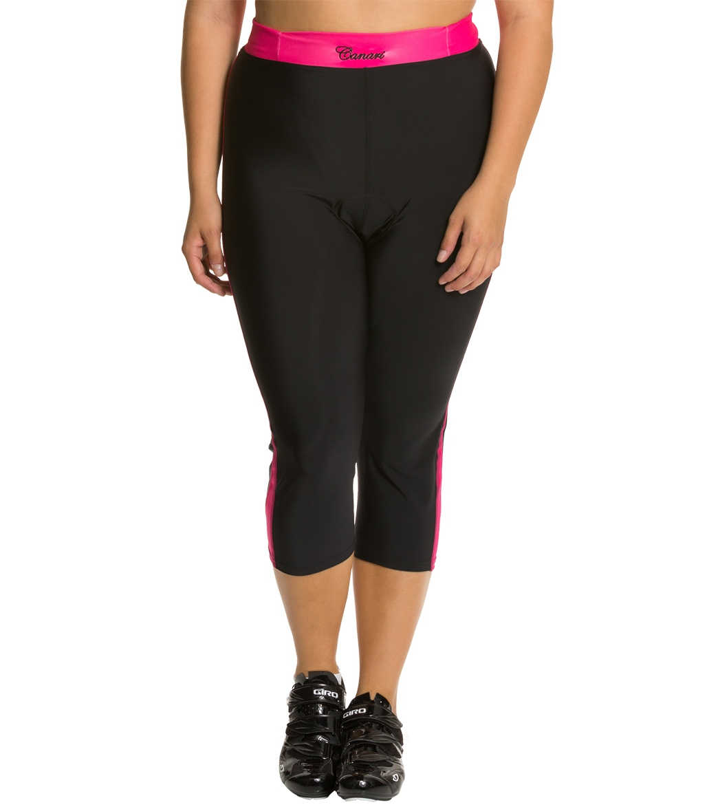Canari Women s Plus Size Vogue Cycling Knickers at SwimOutlet.com - Free  Shipping ba3be2cae