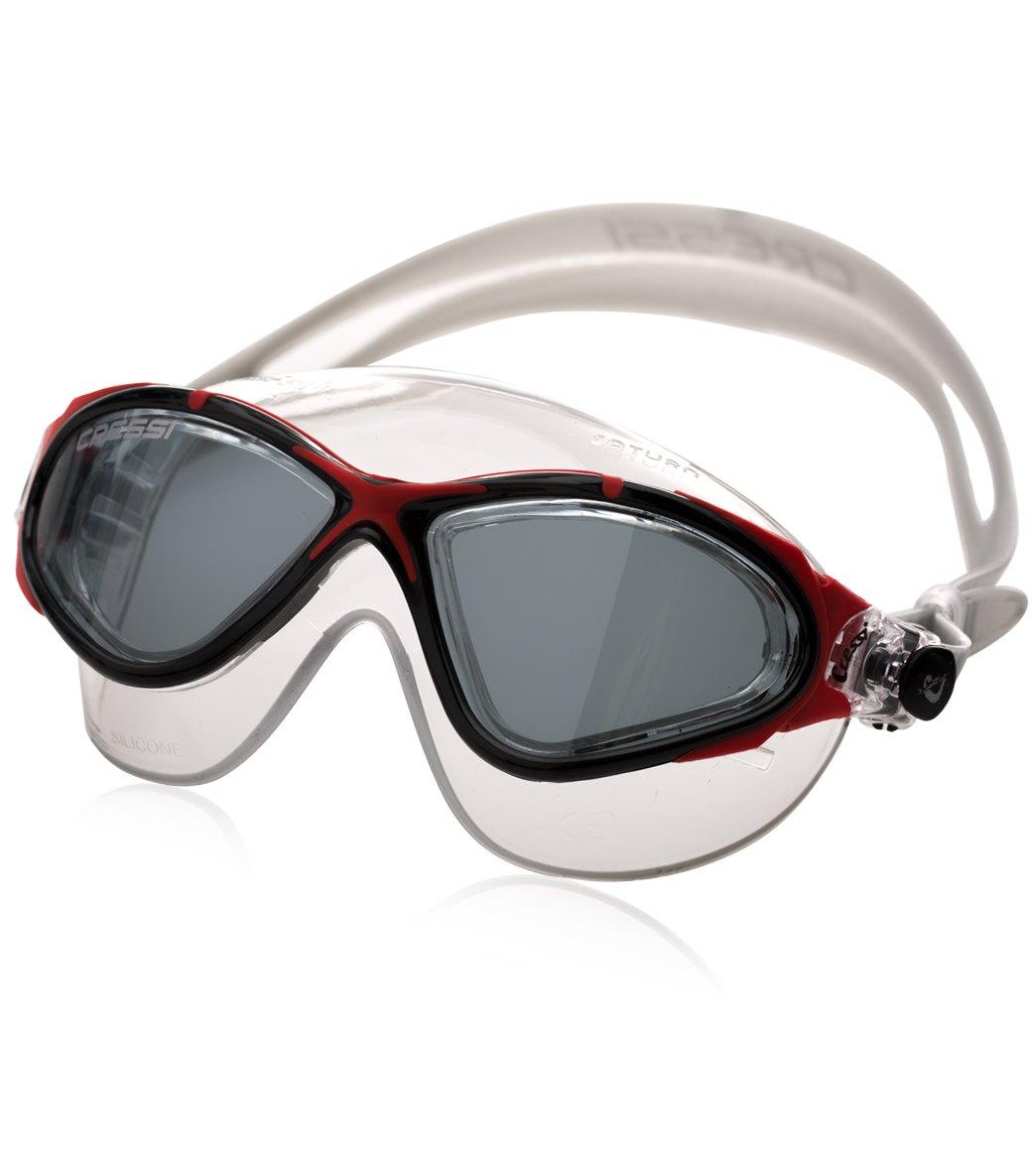 ab4216d2b0d Cressi Saturn Crystal Swim Mask Tinted Lens at SwimOutlet.com